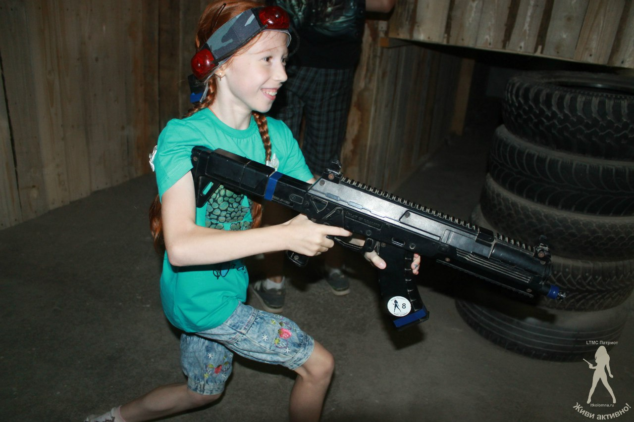 Детский лазертаг коломна